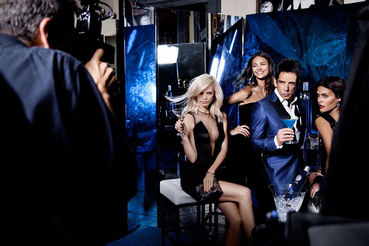 "Sesión fotográfica para ""Derek Zoolander Blue Steel"""