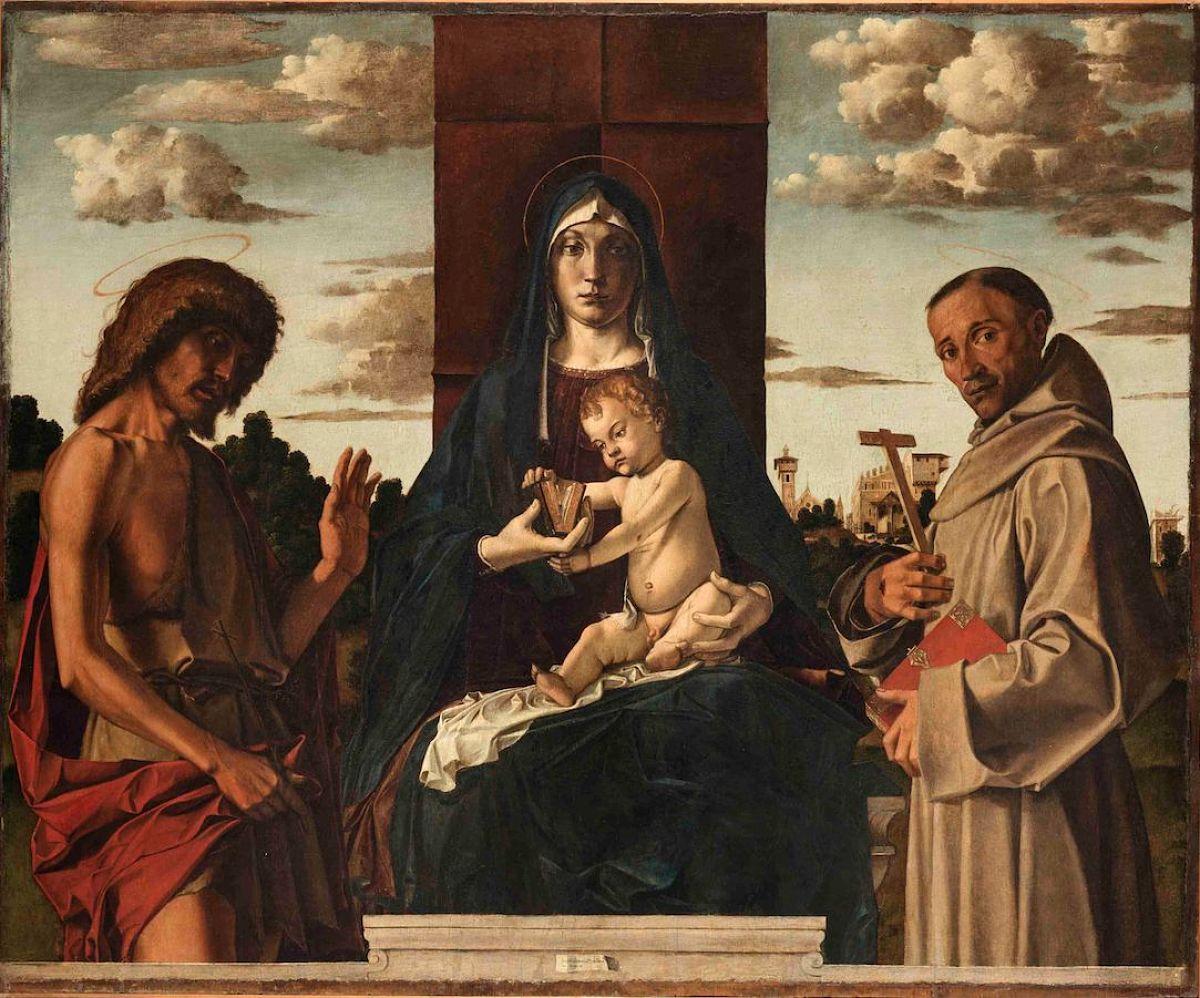 Madonna y el niño, Bartolomeo Montagna Foto: Fondazione Giorgio Cini