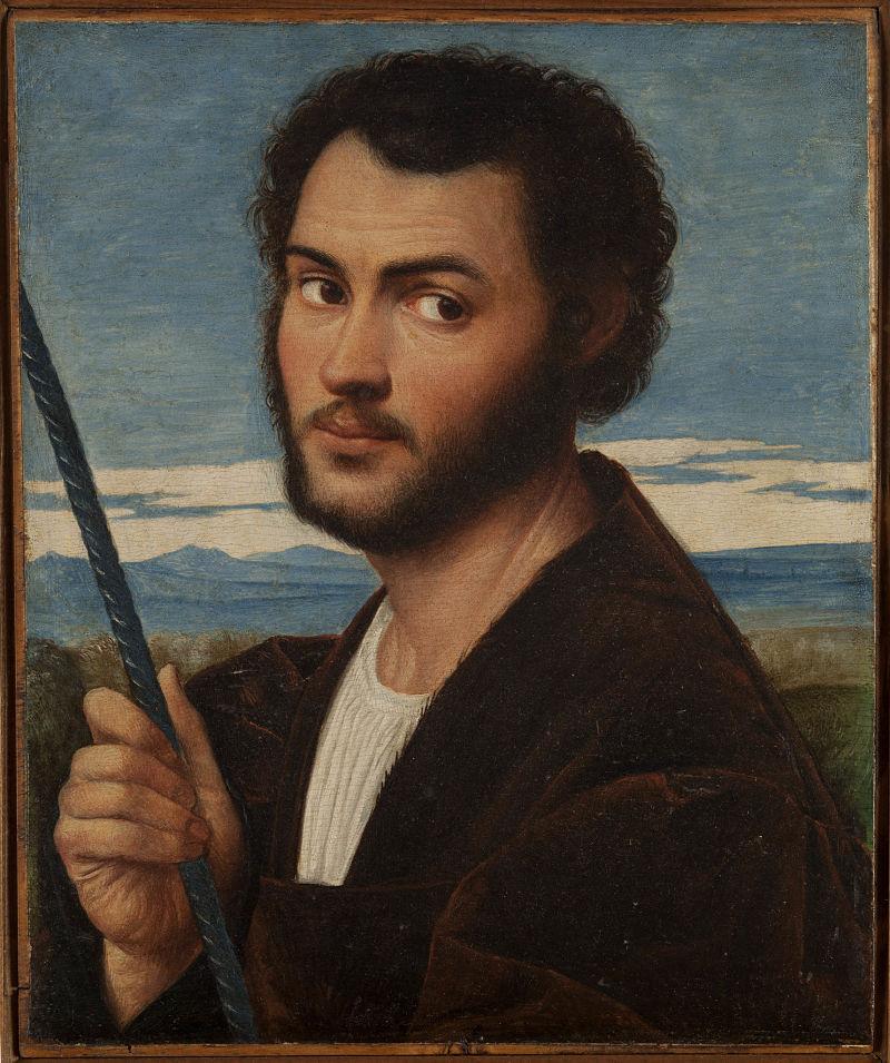 Retrato de hombre por Bernardino Licinio Foto: Fondazione Giorgio Cini