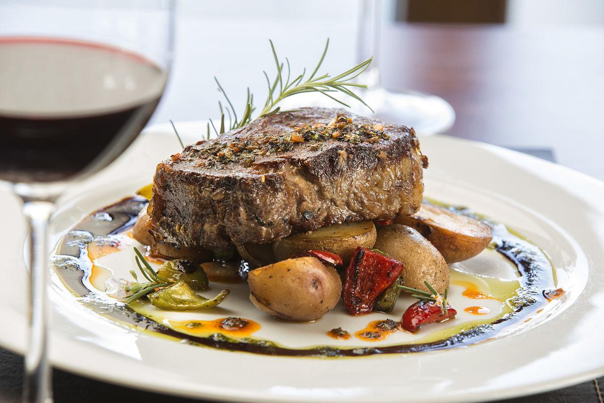 Cuisine de Grace Cafayate. Foto: Grace Hotels.
