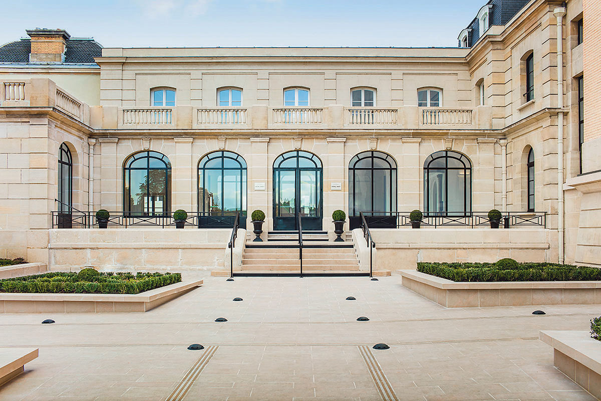 Edificio Moët & Chandon en Épernay, Francia. Foto: LVMH.