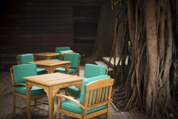 Espacios exteriores de Alto Restaurante. Foto: Alto Restaurante.