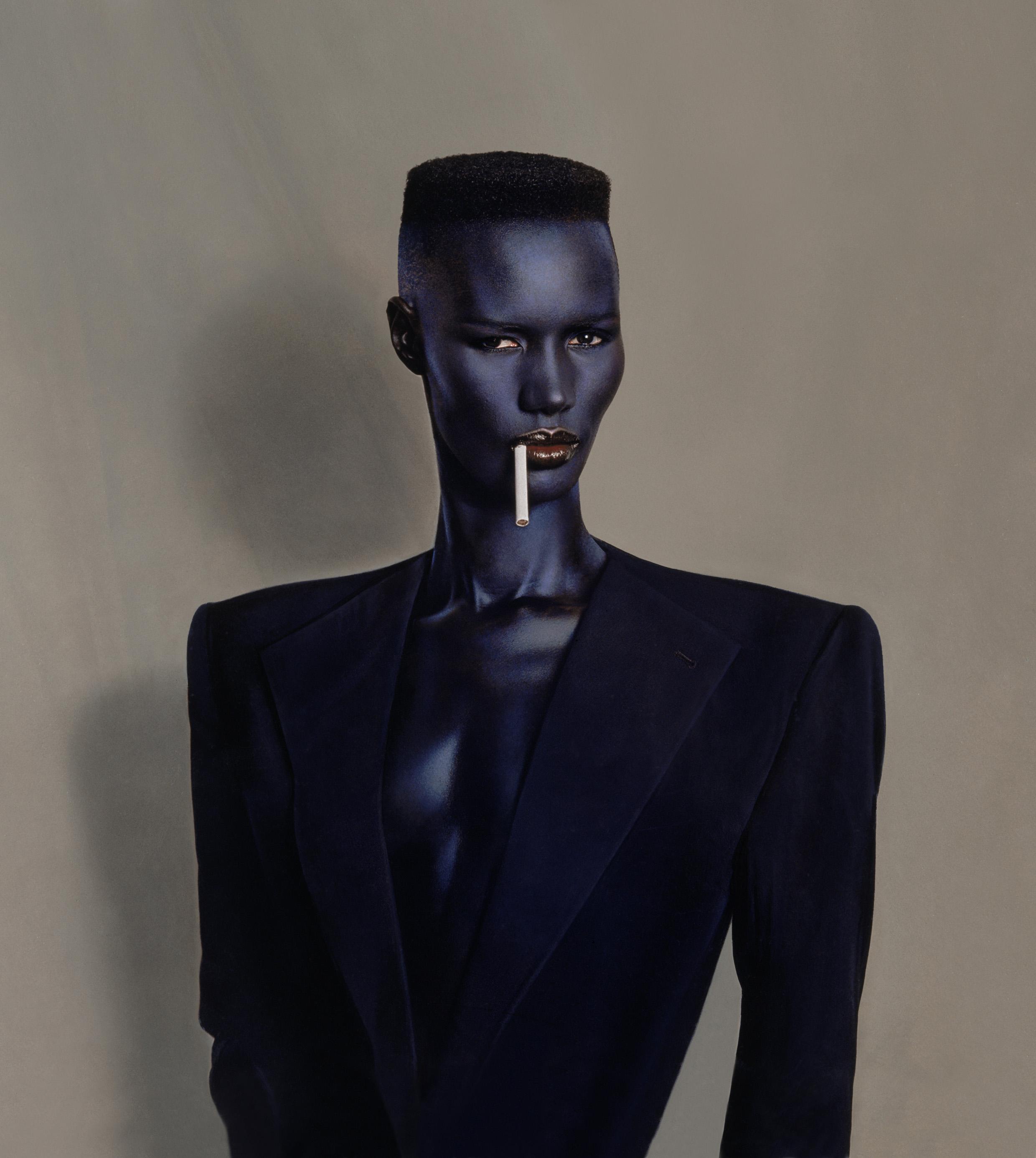 Blue-Black in Black on Brown, New York, 1981. Foto: Tod's.