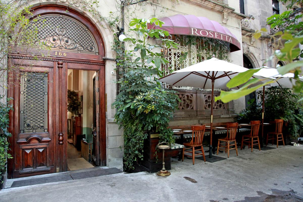 Fachada de Rosetta Restaurante. Foto: Rosetta Restaurante.
