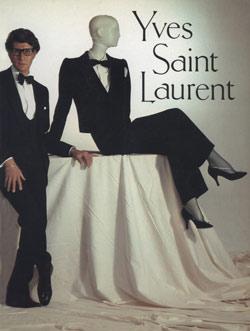Yves Saint Laurent. Foto: Met Museum.