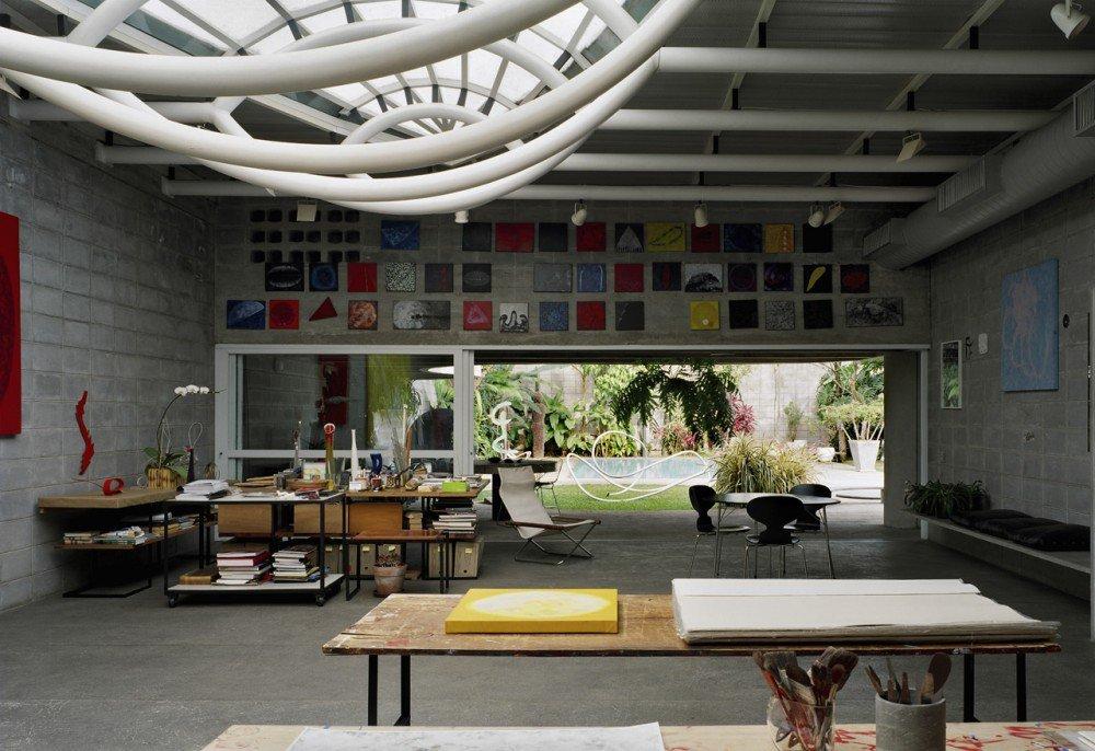 Casa de Tomie Ohtake. Foto: Nelson Kon.