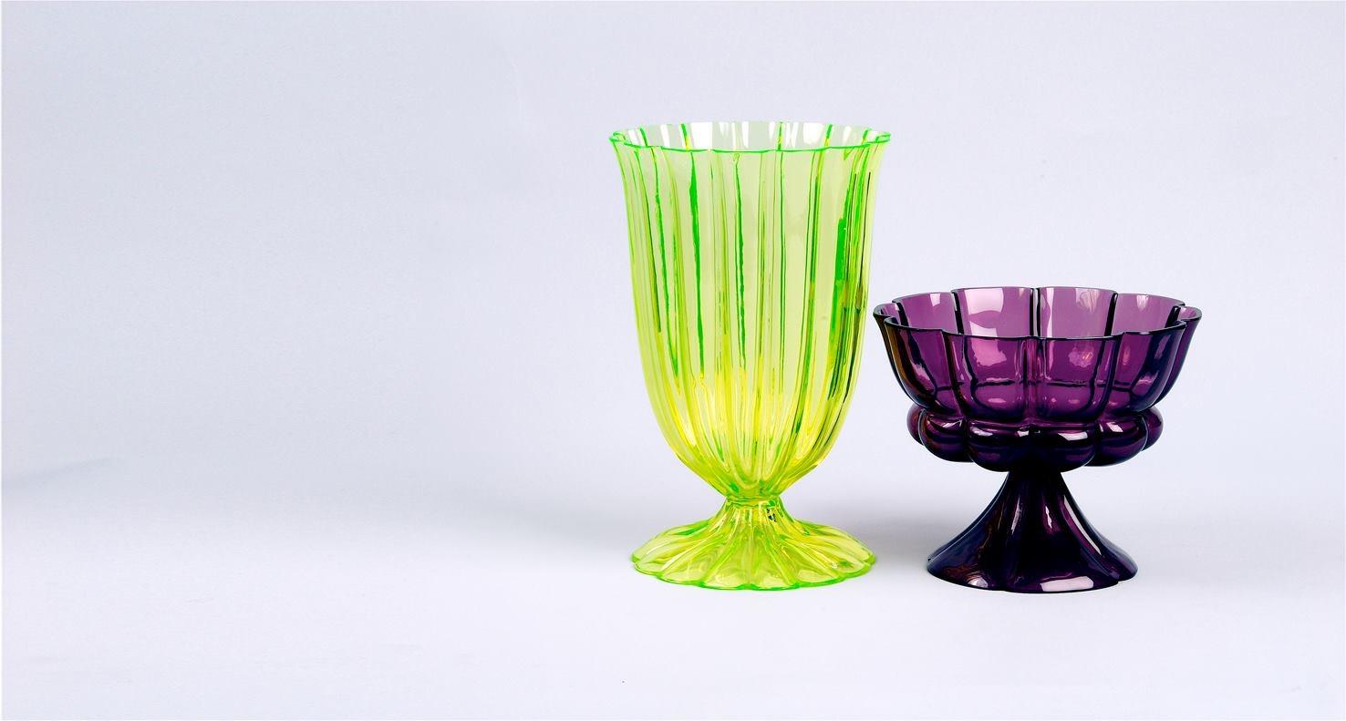 Goblets (1922-1923), de Josef Hoffmann. Foto: lestanzedelvetro.org
