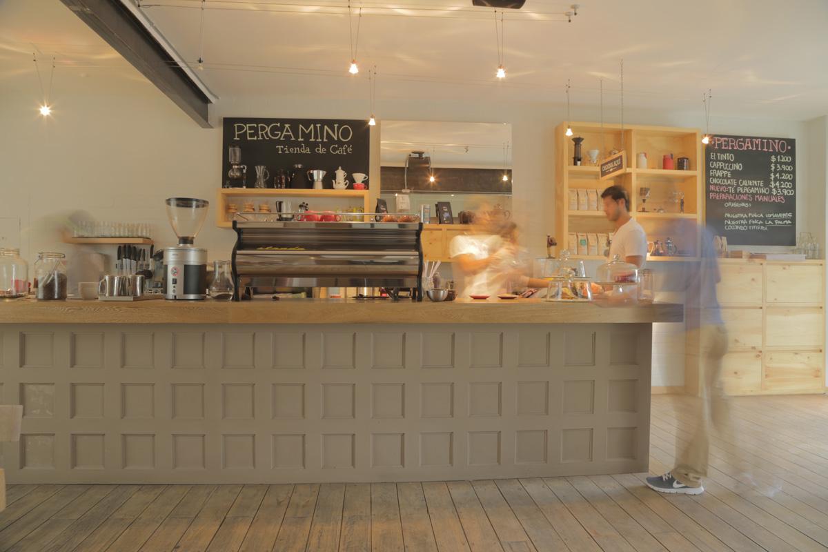 Pergamino Café. Foto: Pergamino