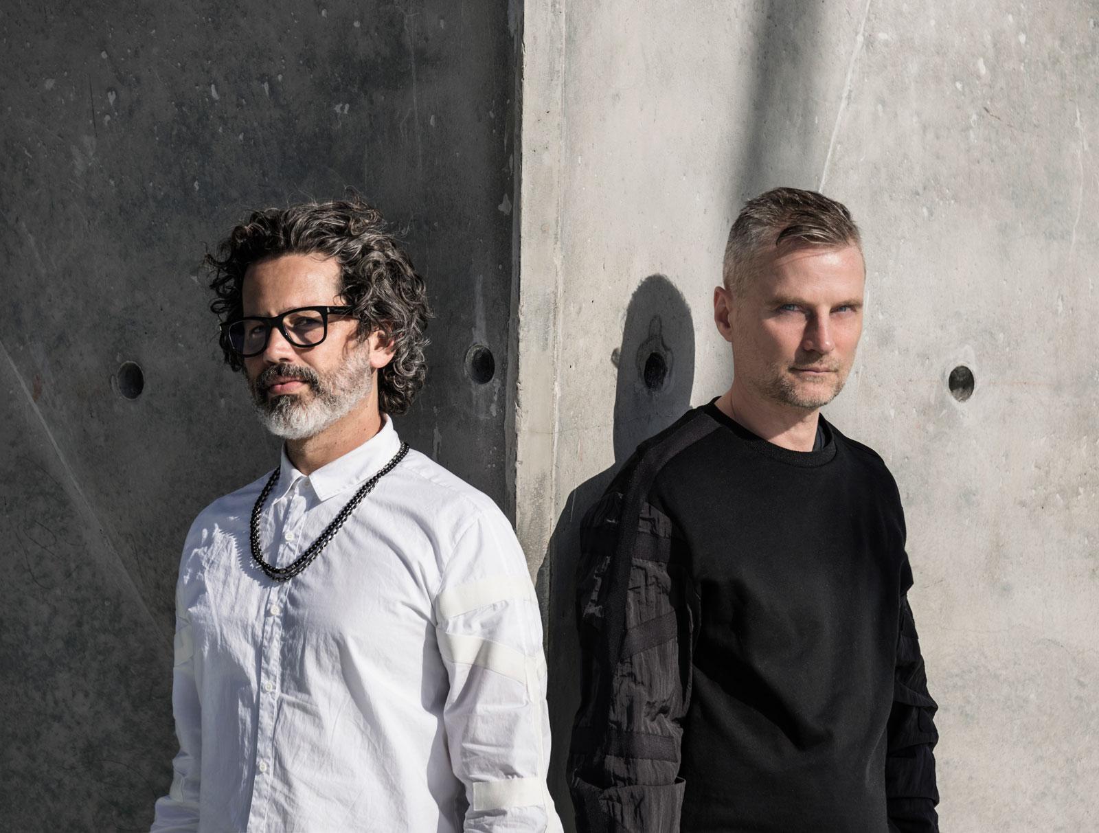 Carlos Quintero junto Karl Brad. Foto: Julio Gaggia