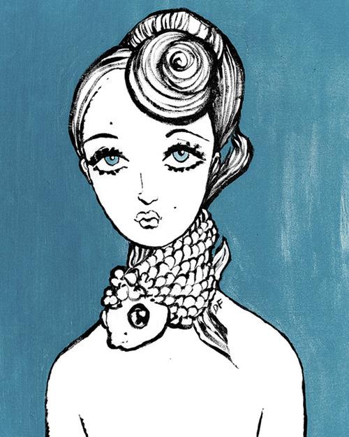 Peace Line Series 7 - Mermaids. Foto: davidfootestudio.com