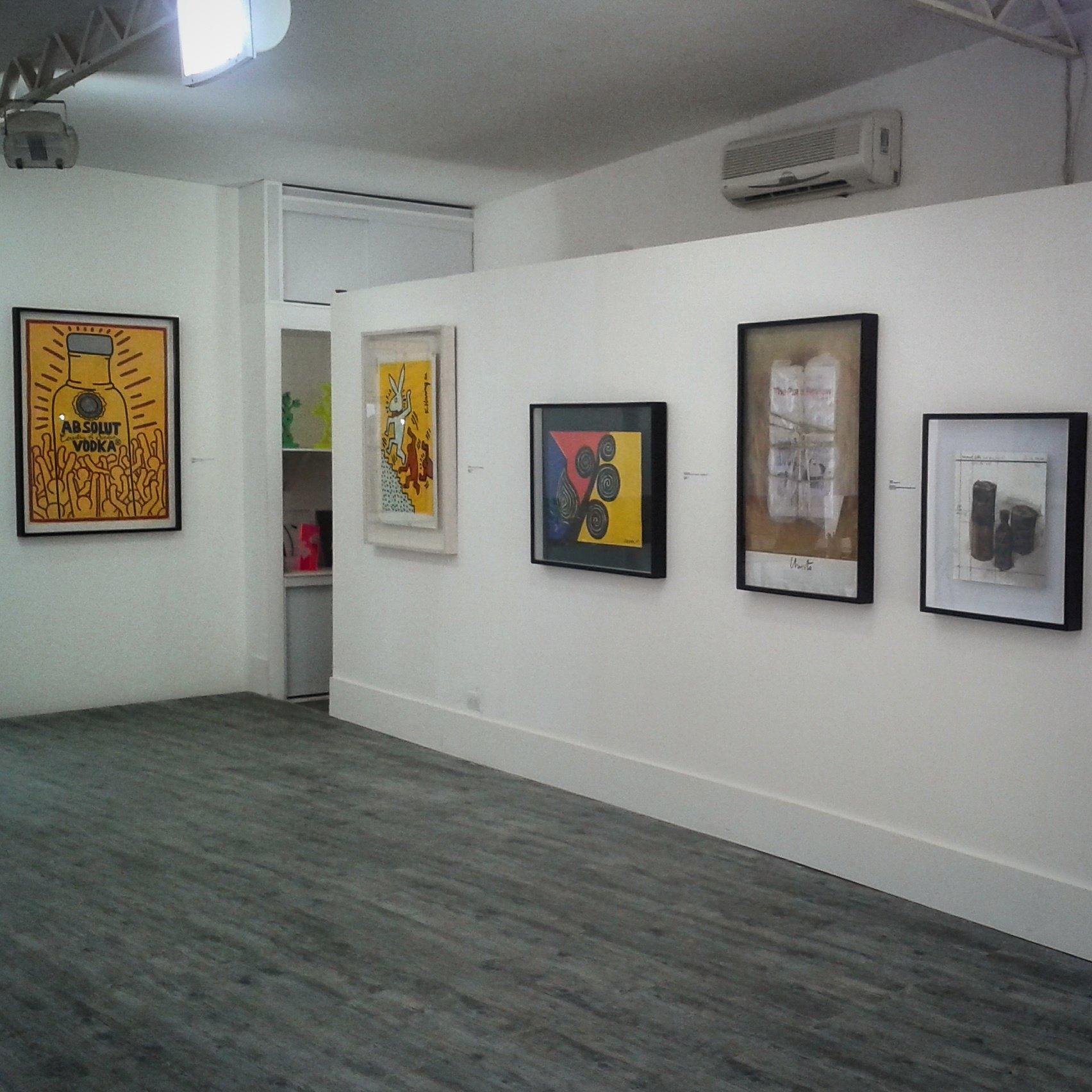 Galería Parenthesis. Foto: centrodeartelosgalpones.com