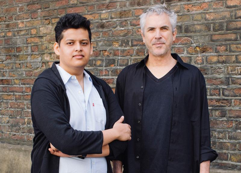 Chaitanya Tamhane (Film Protégé) y Alfonso Cuarón (Film Mentor). Foto: Rolex