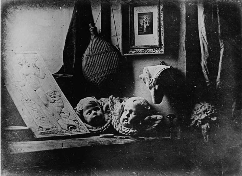 Daguerrotipo experimental. Foto: wikipedia.com