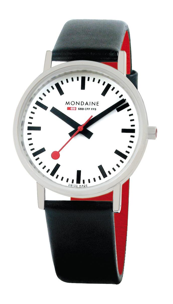 Mondaine Classic. Foto: mondaine.com