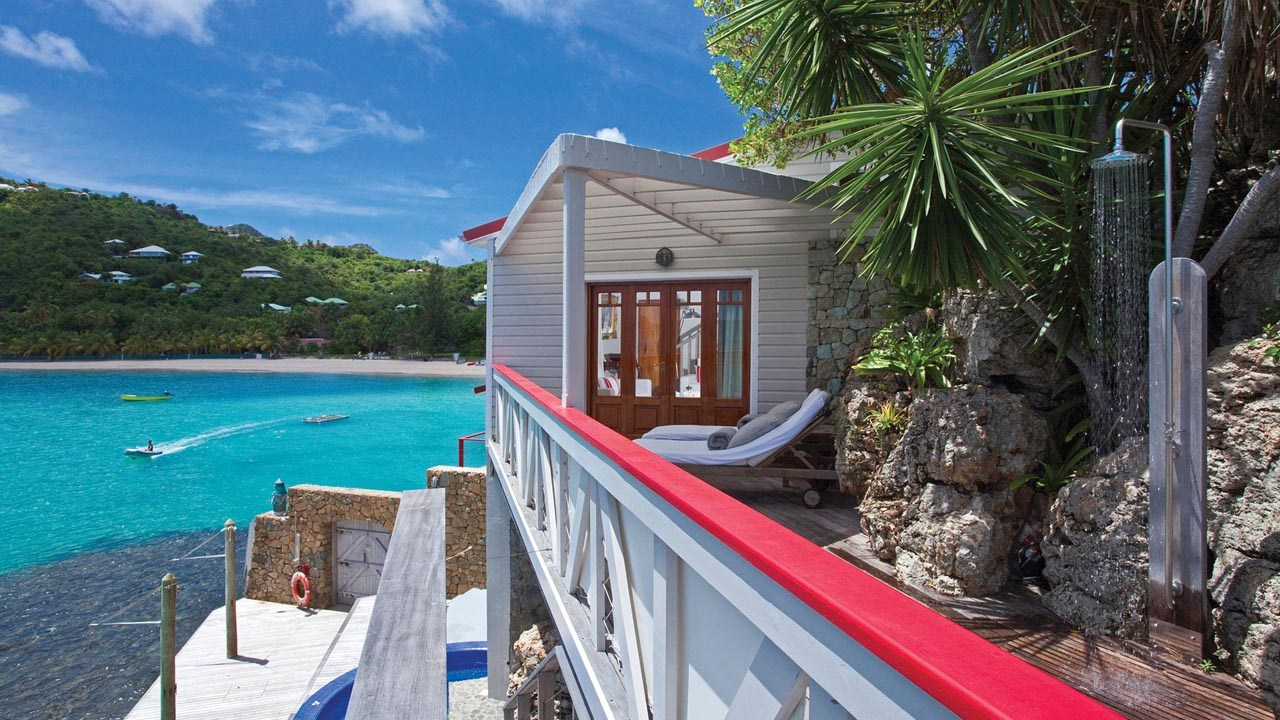 Terraza privada de la Fregate Suite. Foto: edenrockhotel.com