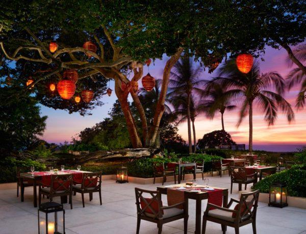 Terraza del restaurante La Nao. Foto: Banyan Tree.