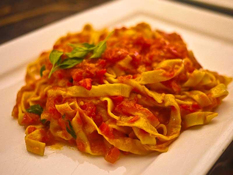 Italian food. Foto: posadamargherita.com