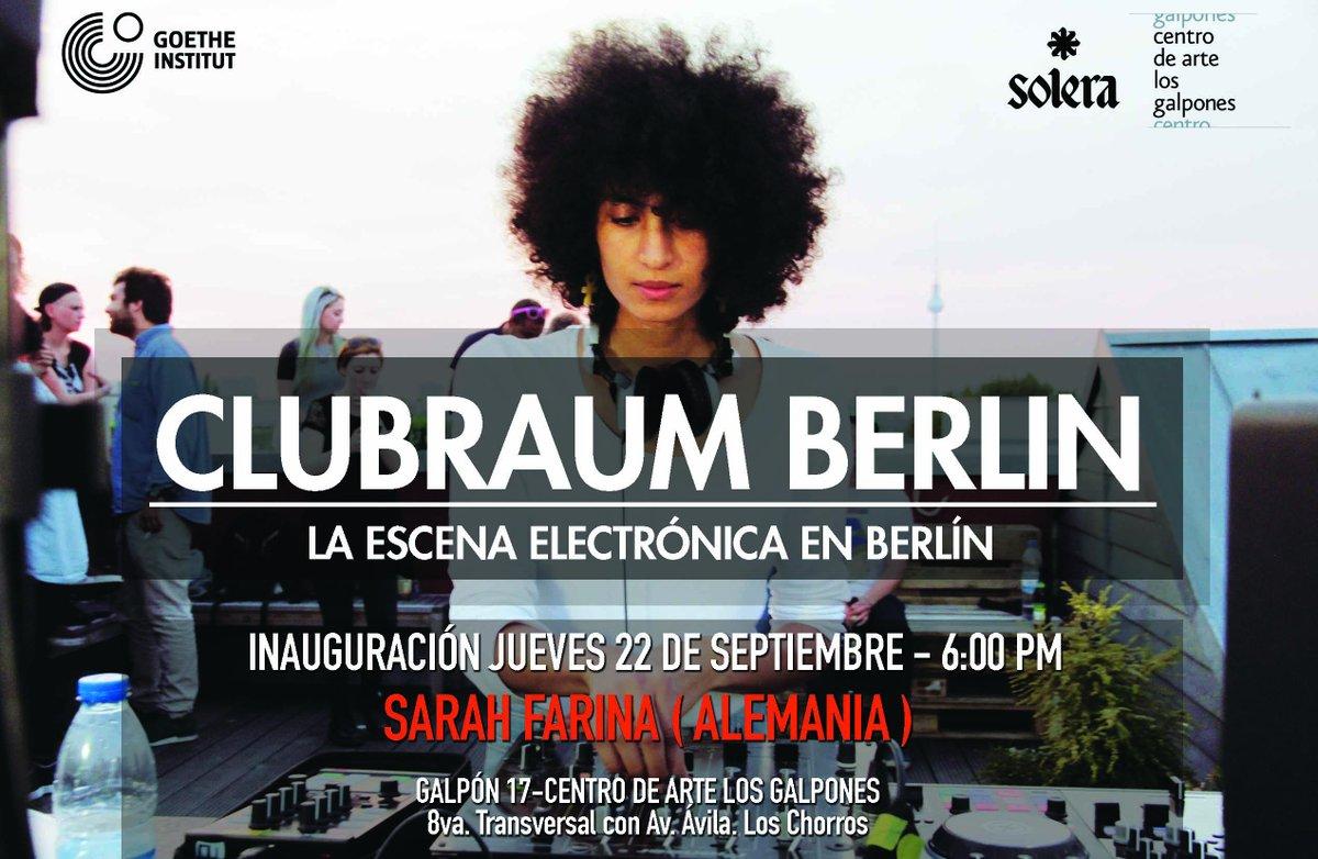 Clubraum Berlin en Los Galpones. Foto: cortesía Goethe-Institut Caracas.