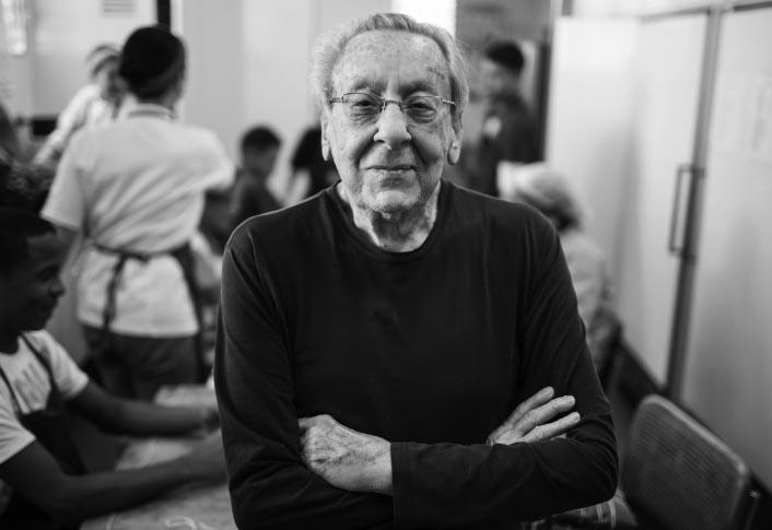 Don Armando Scannone. Foto: Donaldo Barros
