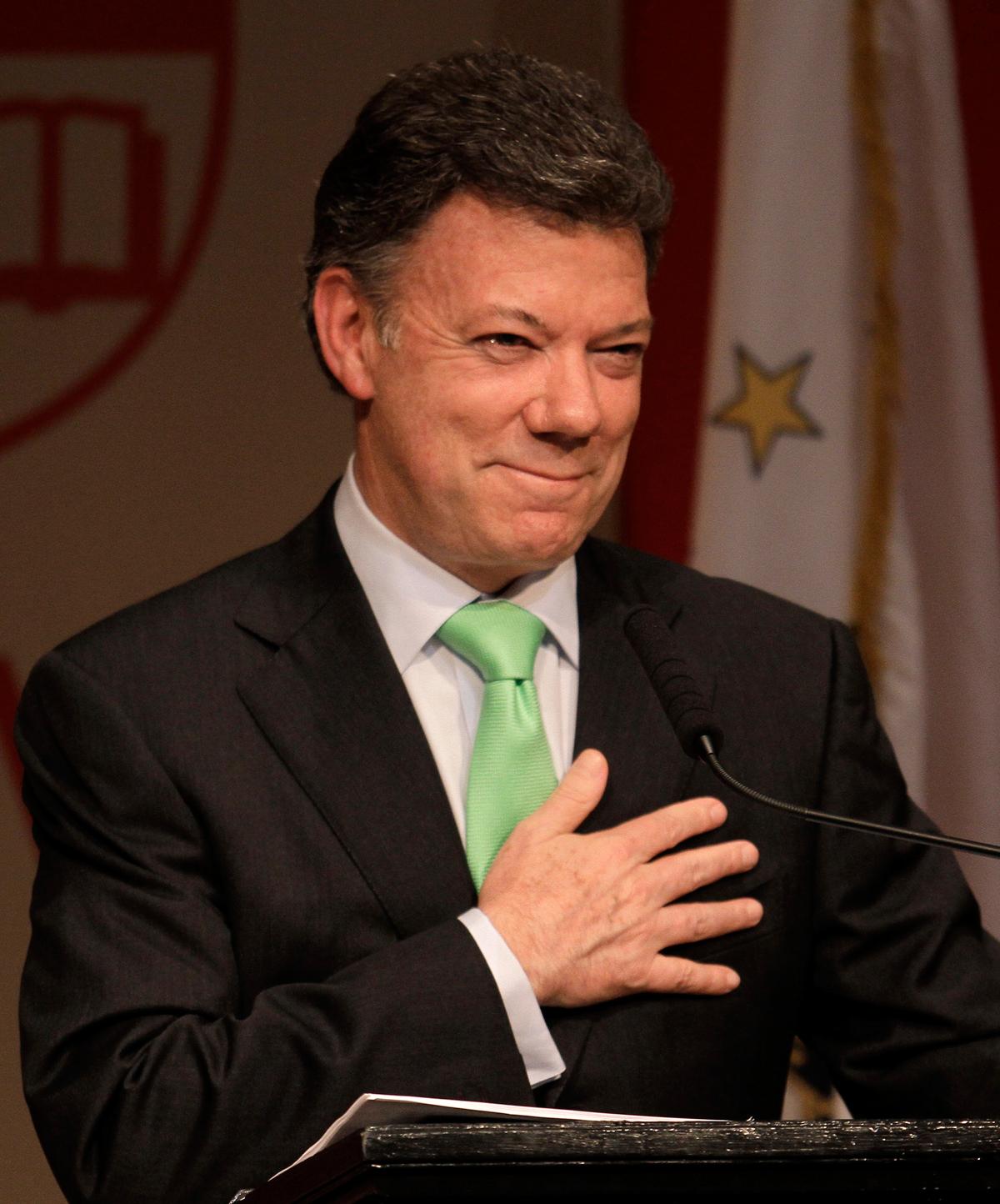Presidente Juan Manuel Santos. Foto: youtube.com