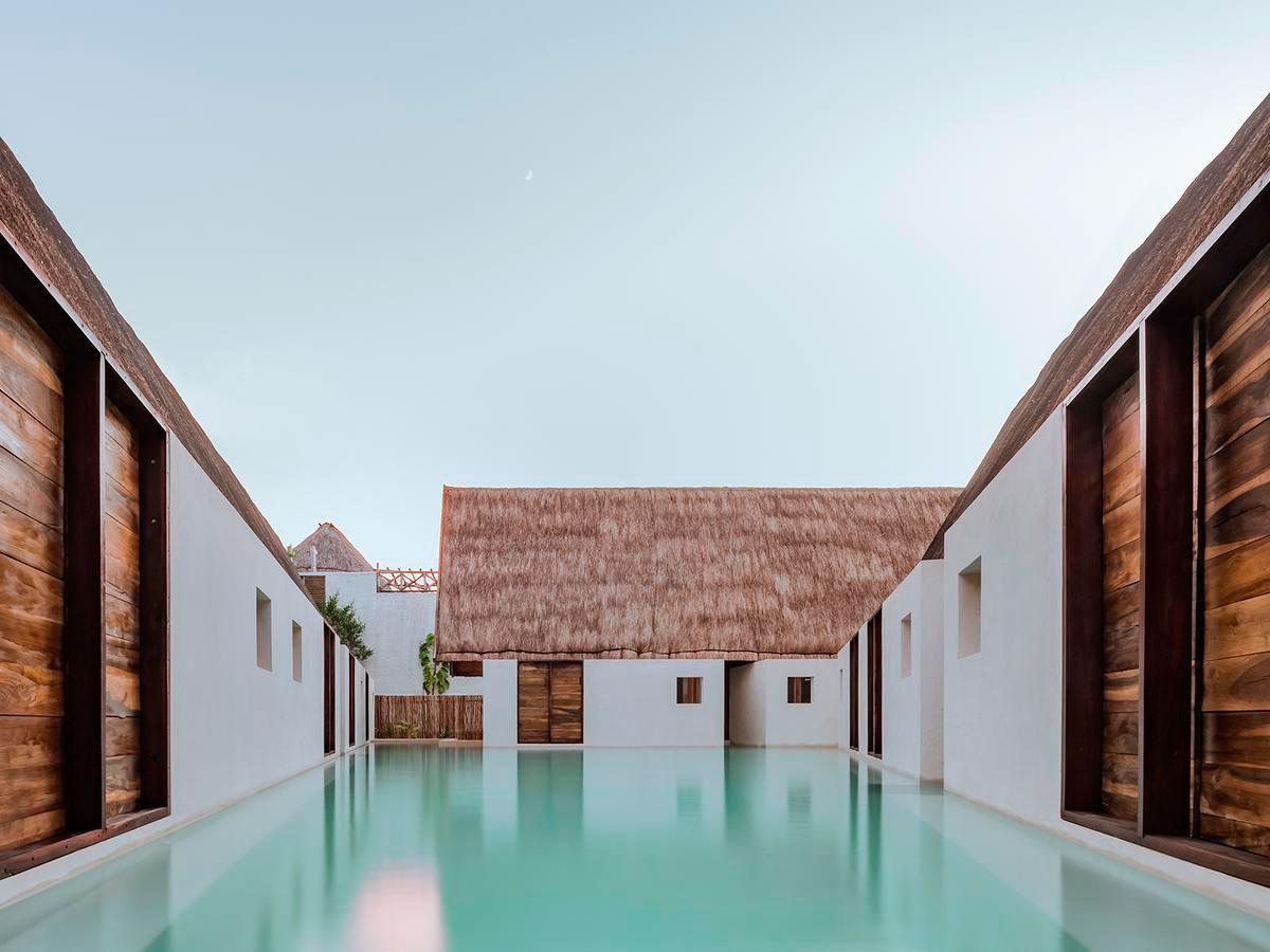 Hotel punta caliza para so flotante luster magazine for Design boutique hotel freiburg